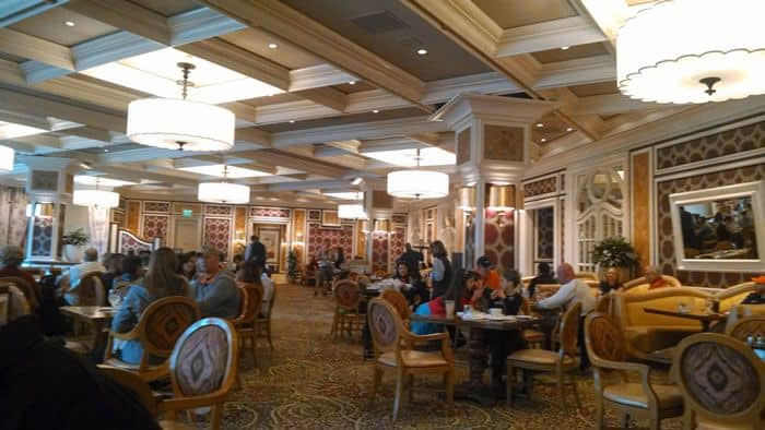 Pool Cafe Bellagio Menu