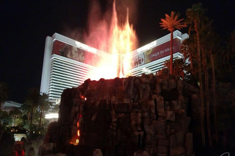 Mirage Volcano Las Vegas