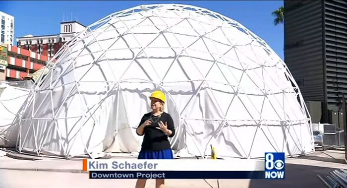 Catalyst Dome in Container Park