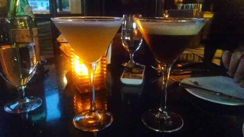 Martinis at Olives, Las Vegas