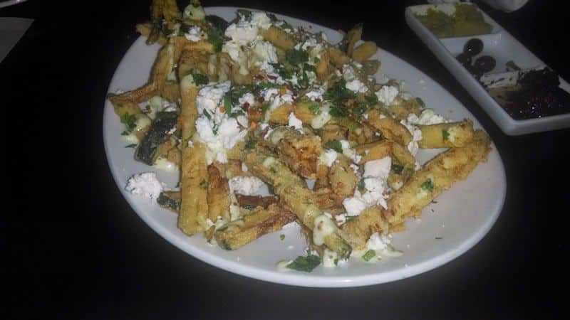 Zucchini Fries at Olives