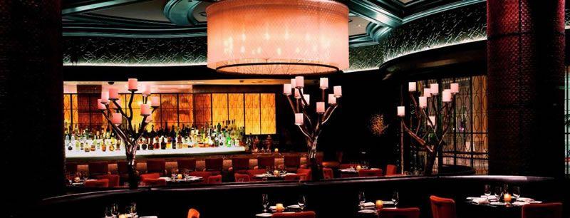 Olives Bellagio dining room
