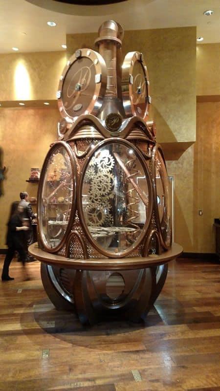 Payard Patisserie Chocolate Clock