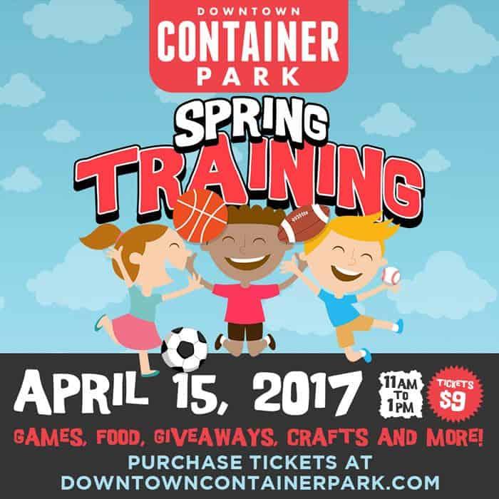 Spring Training for Kids