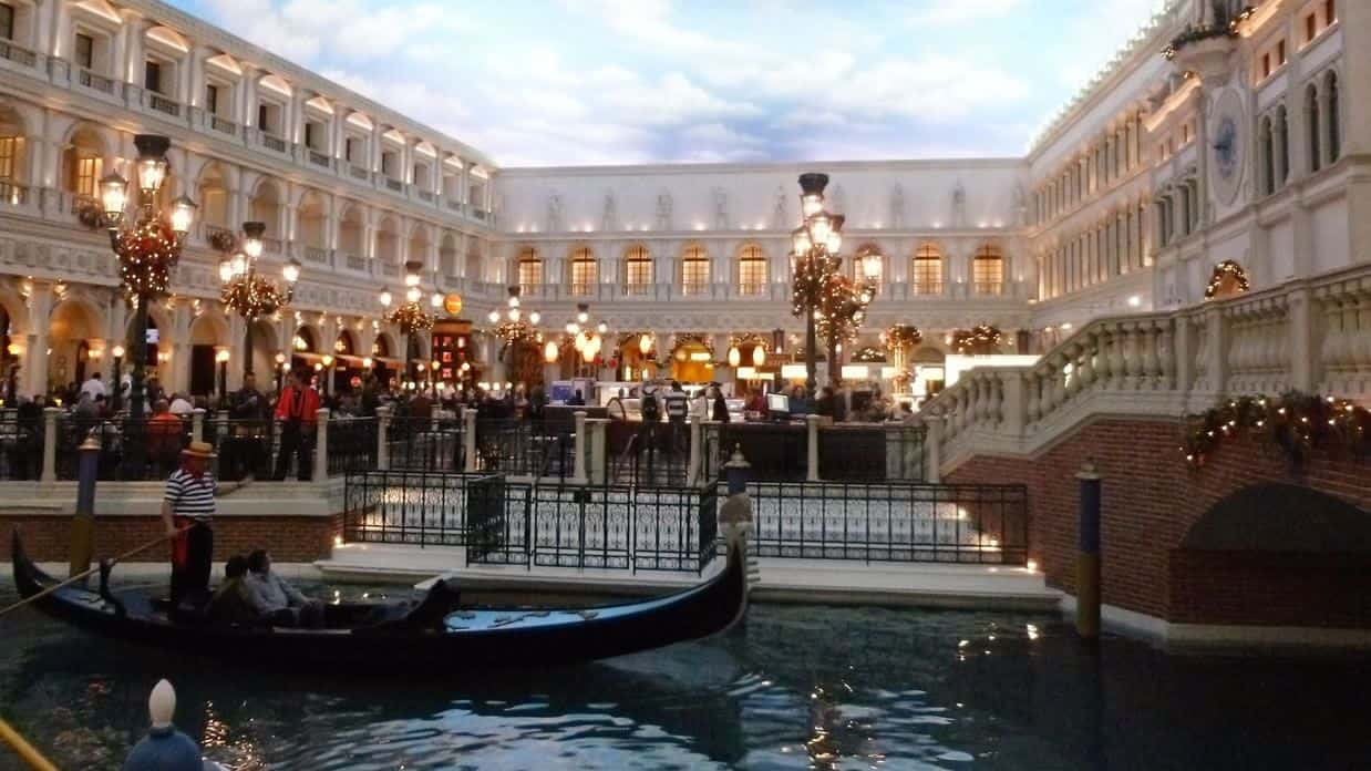 Venetian Gondola Ride in Vegas