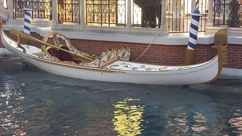 Venetian Wedding Gondola