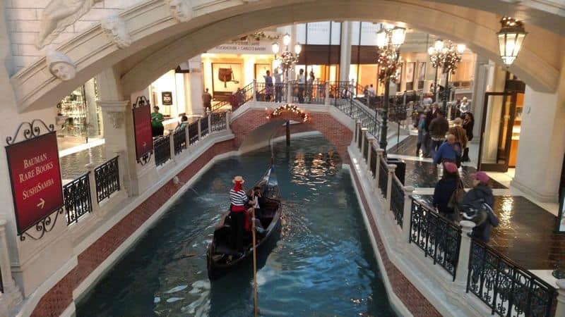 Gondola at Venetian