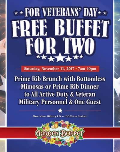 South Point Veterans Day Buffet