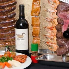 Brazilian Surf 'n' Turf Rodizio at Pampas Brazilian Grille