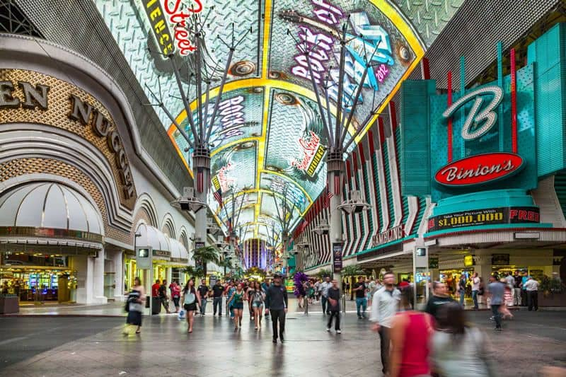 Fremont Street Walking Tour in Downtown Vegas