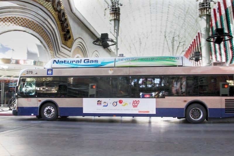 wax bus las vegas airport